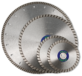 PDDry Small Diameter Serrated Blades