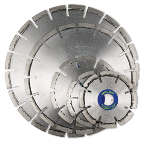 Dry Small Diameter Segmented Blades